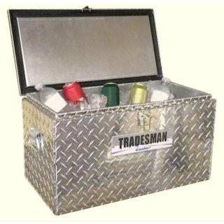 Tradesman 25 1/2 in x 13 3/4 in x 13 1/4 in Aluminum Mid Size Truck Tool Box