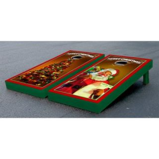 Victory Tailgate Merry Christmas Themed Cornhole Game Set