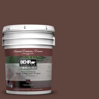 BEHR Premium Plus Ultra 5 gal. #S G 780 Spiceberry Eggshell Enamel Interior Paint 275305