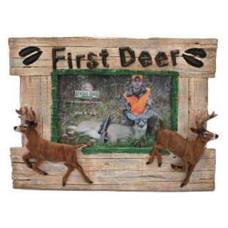 First Deer Picture Frame by Rivers Edge