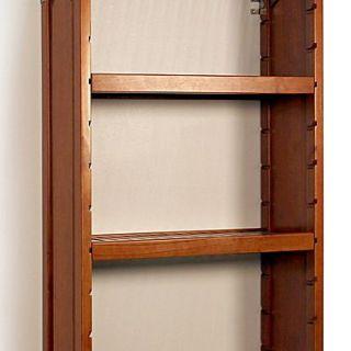 John Louis Home 12 Deep Woodcrest Adjustable Shelves (Set of 2); Carmel