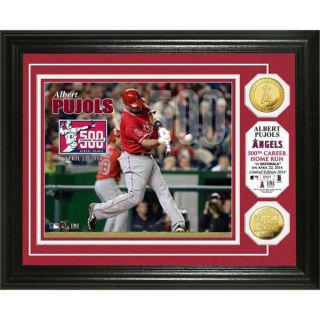 Albert Pujols 500 Home Runs Gold Coin Photo Mint   16235456