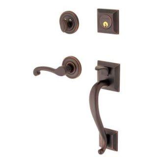 Baldwin Madison Single Cylinder Venetian Bronze Left Handed Handleset with Wave Lever 85320.112.LENT   Mobile