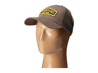 The North Face Patches Trucker Hat Pompeian Red