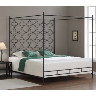 Quatrafoil King Canopy Bed   Shopping Beds