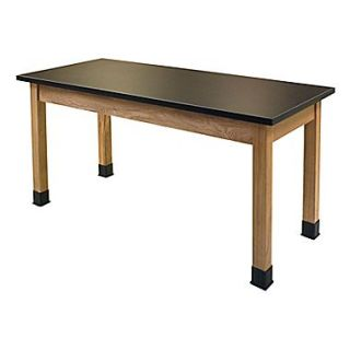 National Public Seating SLT2454 36 Science Lab Table with Chemical Resistant Top