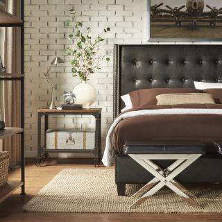 Kingstown Home Mackenna Upholstered Panel Bed