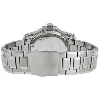 Seiko Premier Silver Dial Stainless Steel Mens Watch SUR013   Premier