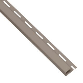 0.625 in x 150 in Clay J Channel Vinyl Siding Trim
