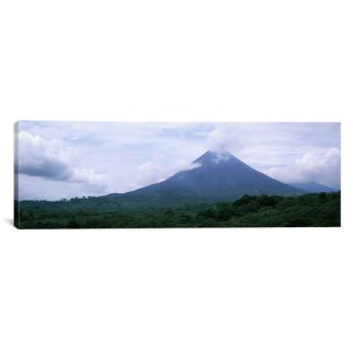 Panoramic Clouds over a Mountain Peak, Arenal Volcano, Costa Rica