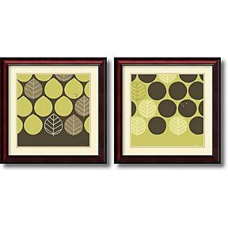 Amanti Art Forest Motif   Set of 2 Framed Art by June Erica Vess