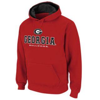 Georgia Bulldogs Red Sentinel Pullover Hoodie Sweatshirt
