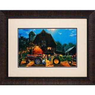 North American Art The Rematch by Dave Barnhouse Framed Painting Print