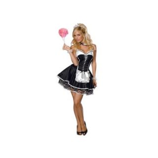 Sexy Maid Costume 888527 Rubies Black/White