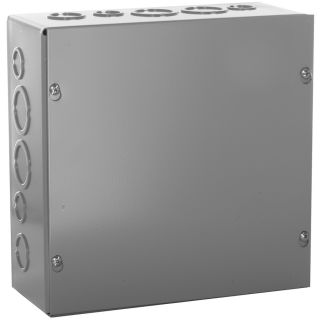 WIEGMANN 400 cu in 0 Gang Metal New Work Wall Electrical Box