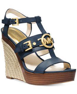 MICHAEL Michael Kors Mackenzie Platform Wedge Sandals
