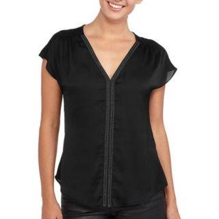 Miss Tina Women's Embellished T Shirt