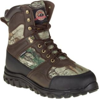 """Brahma Men's 8"""" Leather and Camo Hunting Boots"""