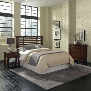 Cabin Creek Queen/ Full Headboard Night Stand and Chest