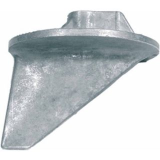 Quicksilver Trim Tab Anode for Most Mercury/Mariner OBs 35 HP and Above and All MerCruiser Except Bravo, Aluminum