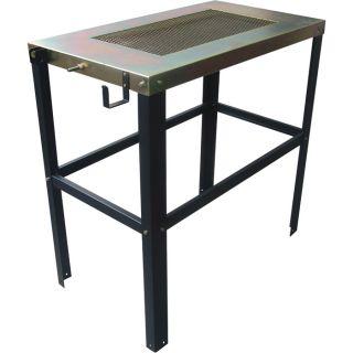 Northern Industrial Welders Welding Table — 36in.L x 20in.W x 35in.H