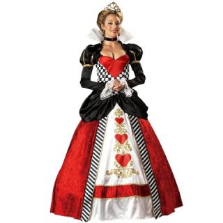 Womens Queen of Hearts Elite Costume