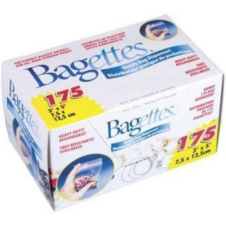 Cousin 14771 Bagettes Heavy Duty Reclosable Bags 175/Pkg