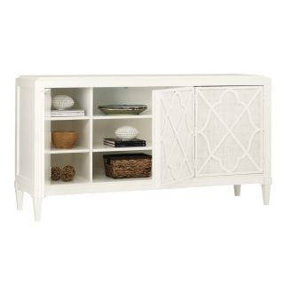 Tommy Bahama 543 852 Ivory Key Hawkins Point Buffet in Antique White Somers Isle