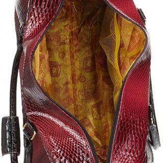 Samantha Brown Ombre Collection Embossed Wheeled Weekender Bag   7735018