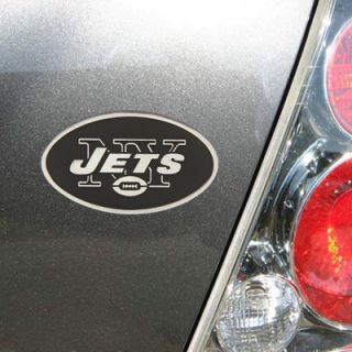 New York Jets Premium Metal Auto Emblem
