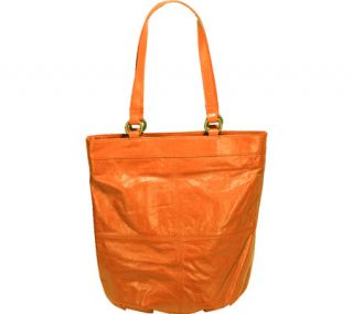 Womens Latico Dorothy N/S City Flapper 7928   Orange Leather