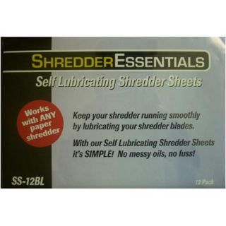Shredder Essentials 8 Sheet Diamond Cross Shredder with Bonus 12 pack Oil Sheets