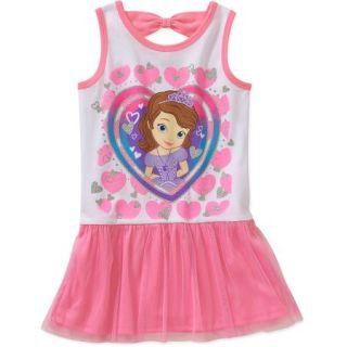 Sofia the First Princess Baby Toddler Girl Sleeveless Dress