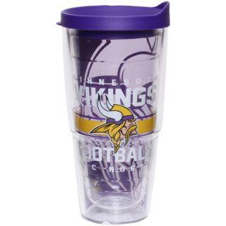 Minnesota Vikings Tervis Tumbler 24oz. Gridiron Wrap Tumbler