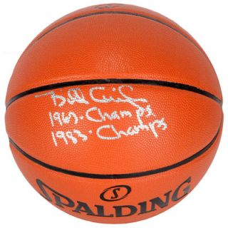 Billy Cunningham Philadelphia 76ers  Authentic Autographed Indoor/Outdoor Basketball with 67 & 83 Champs Inscription