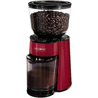 Mr. Coffee Burr Mill Grinder, Red, BVMC BMH26