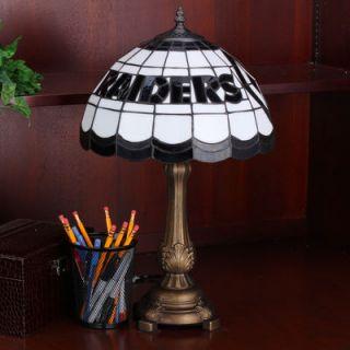 Oakland Raiders Tiffany Table Lamp
