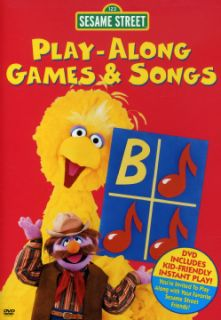 Sesame Street: Play Along Games & Songs (DVD)   Shopping