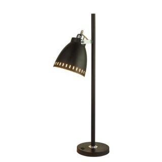 Fangio Lightings #1416BLK 30 inch Metal Tree Table Lamp in Matte Black