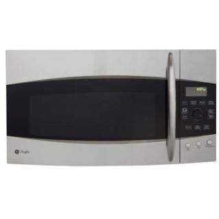 GE Profile Spacemaker 2.1 cu. ft. Over the Range Microwave in Stainless Steel DISCONTINUED PVM2170SRSS