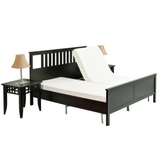 Pragma Simple Adjust Head and Foot Queen Bed