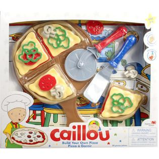 Caillou ID02860 Build Your Own Pizza Set   Toys & Games   Pretend Play