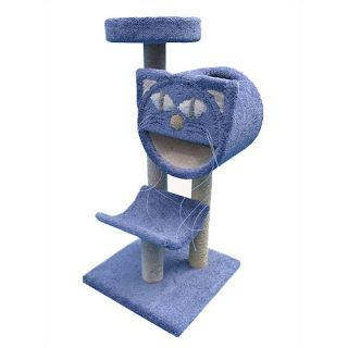 Molly and Friends 54 Bed, Cave and Cradle Cat Tree