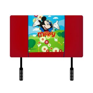 KidzWorld Disney Mickey Mouse Clubhouse Twin Upholstered