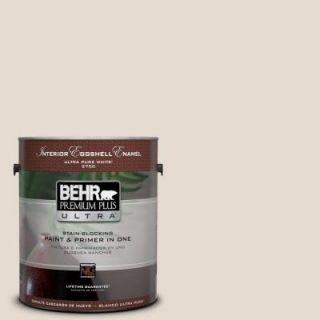BEHR Premium Plus Ultra 1 gal. #W F 220 Cinnamon Cake Eggshell Enamel Interior Paint 275001
