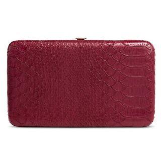 Womens Wallet Kiss Lock Clasp Red  Merona™