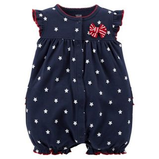 Just One You™Made by Carters® Newborn Girls Star Print Romper