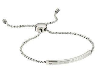 Michael Kors Logo Bracelet   Slider Bracelet Silver