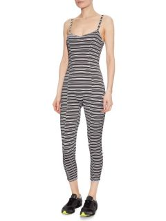 Genevieve striped performance all in one  Lisa Marie Fernandez US