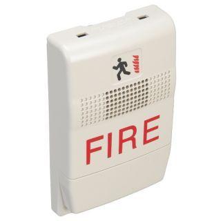 EDWARDS SIGNALING Chime,Marked Fire,White   16X349|EG1F C   Grainger